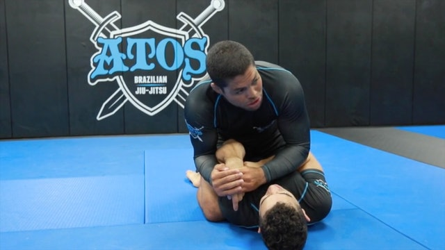Transitioning from the Back Control to Mount + Wrist Lock