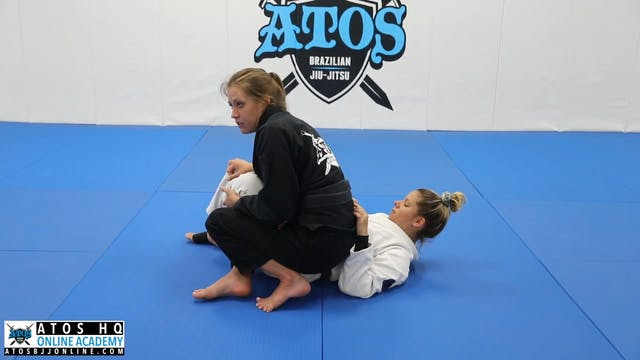 Passing the Reverse Half Guard After the Panda Sweep