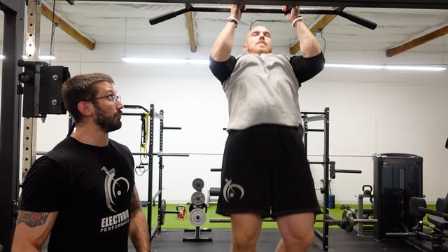 Local Muscular Endurance - Pullup Hold