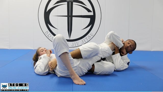 X Guard From Butterfly + Knee Bar