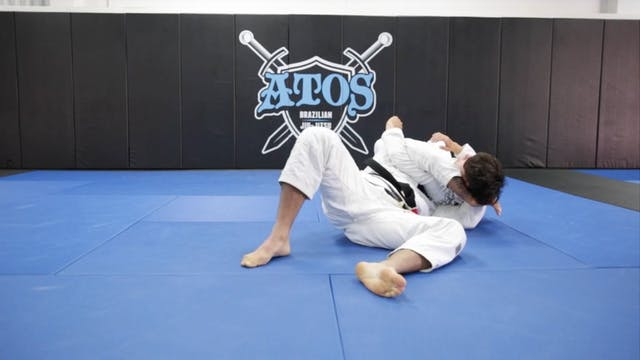 Loop Choke from Single Leg Defense