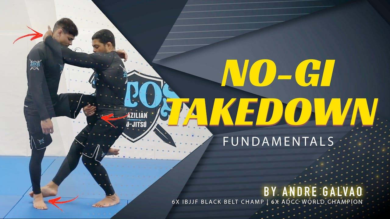 No-Gi Takedown Fundamentals   Andre Galvao