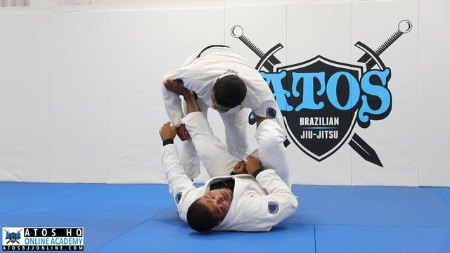 Omoplata From Spider Lasso Guard
