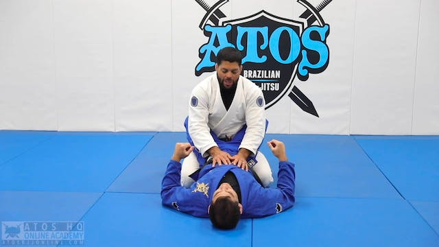 Hand Cuff Pass & Submission