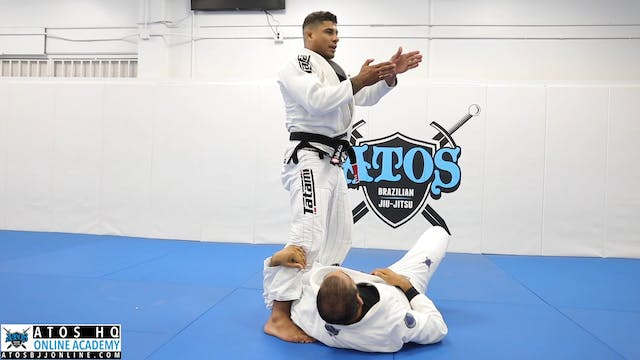 THE STEP OVER KNEE SHIELD PASS