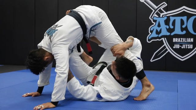 Butterfly X Guard Sweep With Transiti...
