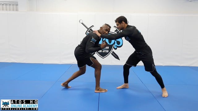 Making Contact Using Opposite Lead Leg Post