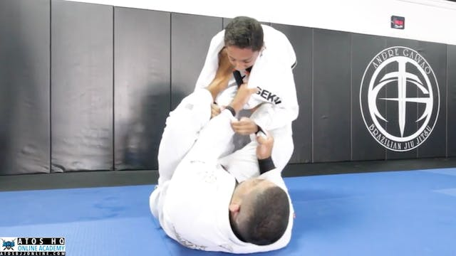 Andre Galvao Training With One Of Ato...