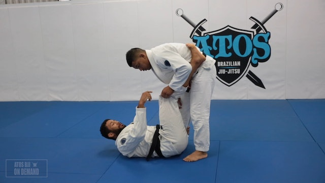 Cross Post Back Take from Spider DLR & Side Triangle Shouder Lock from Back