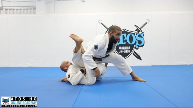 50/50 Escape to Pass and Back Take + ...