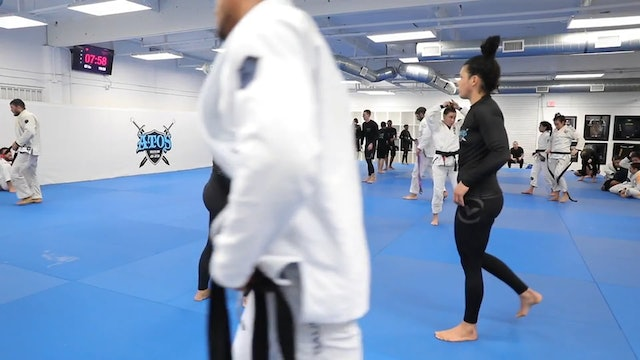 Comp Class Sparring: Angelica Galvao vs Rafaela Guedes