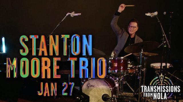 Transmissions from NOLA: Stanton Moore Trio