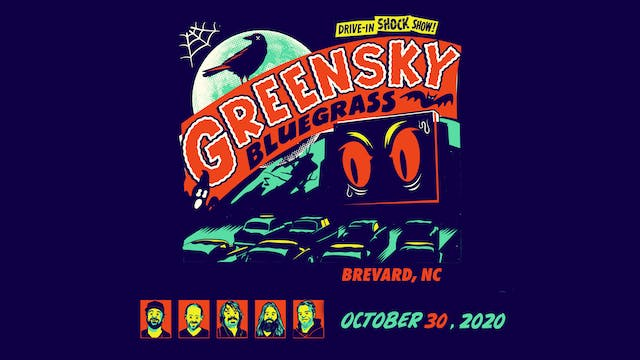 Greensky Bluegrass Halloween 2020: 10/30