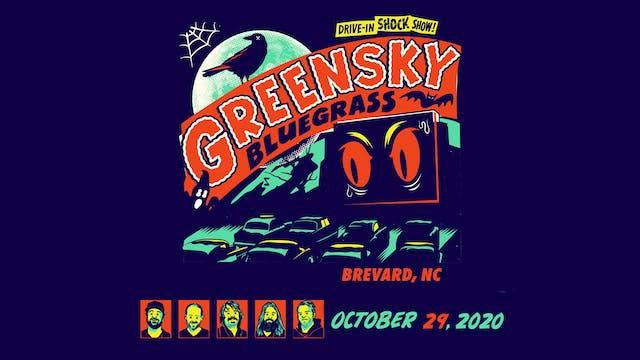 Greensky Bluegrass Halloween 2020 - 10/29/20