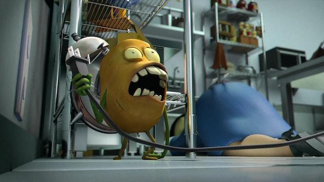 Attack of the Potato Clock