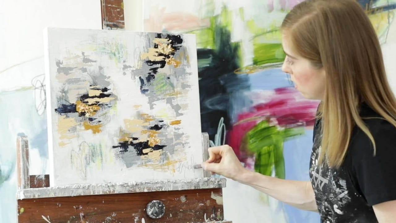 Abstract II Painting Class