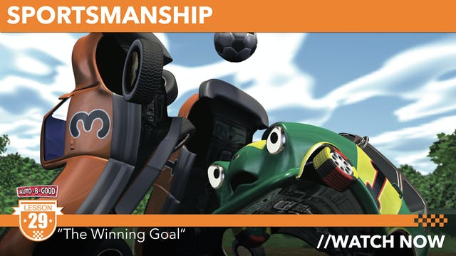 "SPORTSMANSHIP // ""The Winning Goal"" [29]"