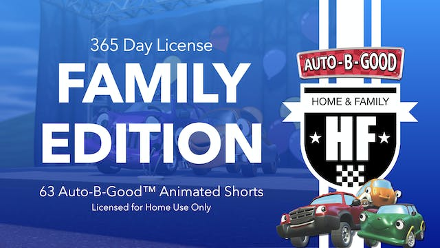 365-Day Family License (English Version)