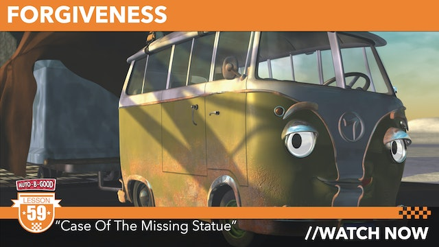 """FORGIVENESS // """"Case of the Missing Statue"""" [59]"""