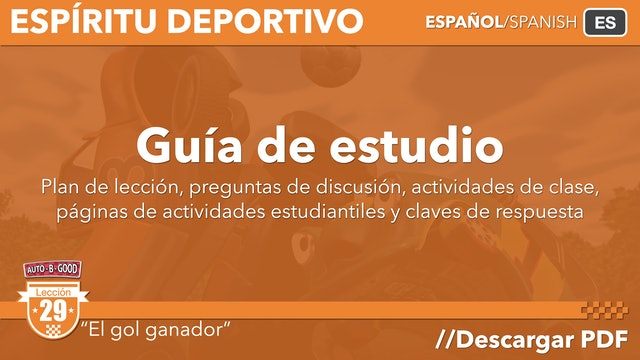 XLGS29-ESPÍRITU DEPORTIVO