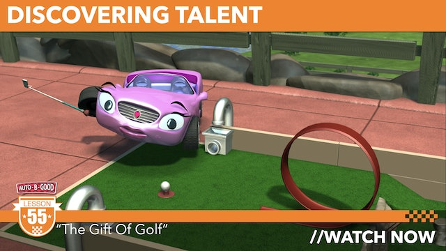 """DISCOVERING TALENT // """"The Gift Of Golf"""" [55]"""