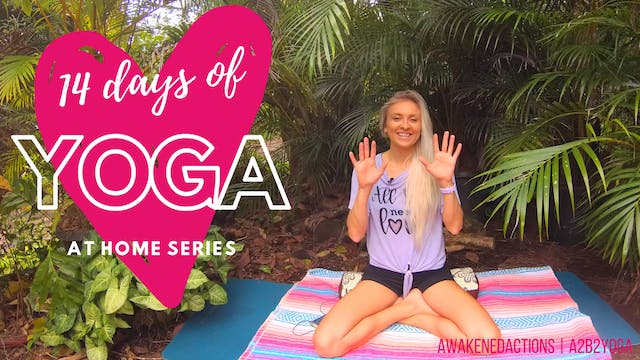 14 days of Yoga At-Home NEW FREE Daily Yoga Series