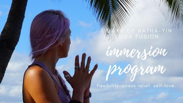 7-Day Hatha-Yin Yoga Fusion | Immersion Program