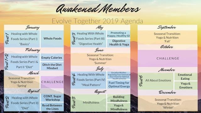 Awakened Members 2019 Evolve Together Series