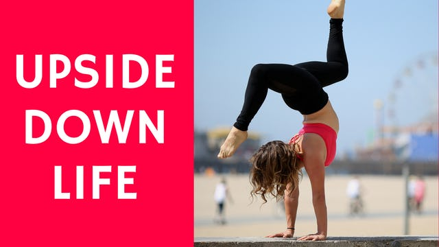 Advanced Inversions #UpsideDownLife