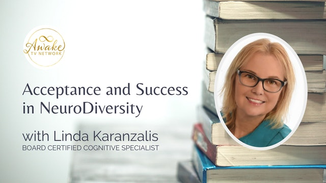 """Acceptance and Success in NeuroDiversity"" with Linda Karanzalis S1E9"