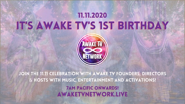 Cheryl Banfield Channels a message from Mother Mary for Awake TV BDAY 11.11.2020