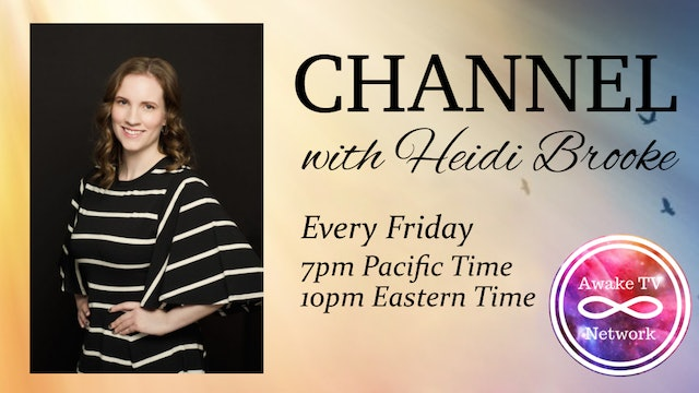 """""""Channel with Heidi Brooke"""" with Guest Michael Sheridan S1E12"""