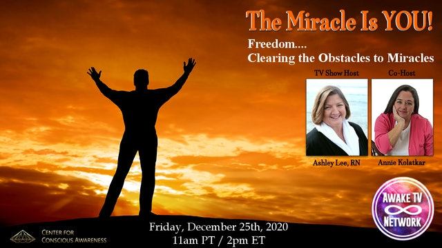 """The Miracle Is YOU!"" with Ashley Lee & Annie Kolatkar S5E1"