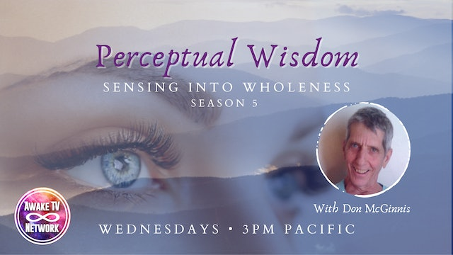 """Perceptual Wisdom - Alertness"" with Don McGinnis S5E3"