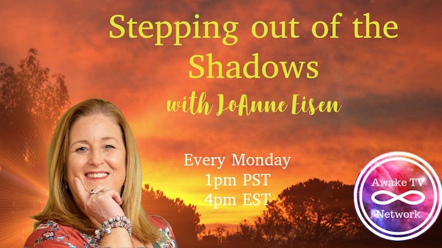 """""""Stepping Out of the Shadows"""" with JoAnne Eisen S1E12"""