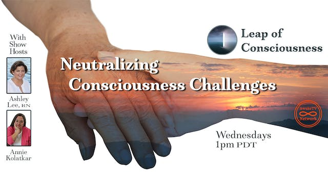 """""""Leap of Consciousness"""" with Ashley L..."""