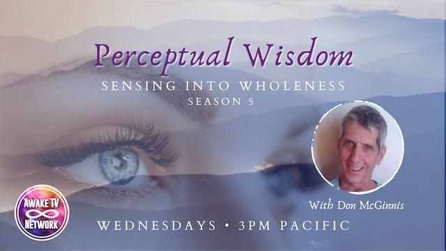 """Perceptual Wisdom - Massaging the Se..."