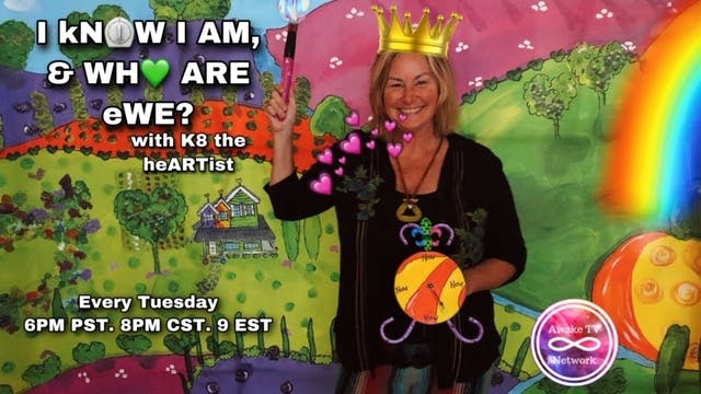 """I kNOW I AM, & WHO ARE eWE?"" with K8..."