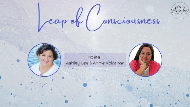 """Consciousness Challenge Chats"" w/ Ashley Lee, Annie Kolatkar & Dr. Joe Delaney"