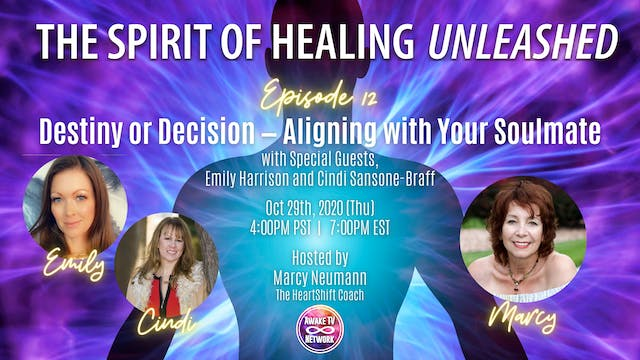 """""""The Spirit of Healing Unleashed"""" w/ ..."""