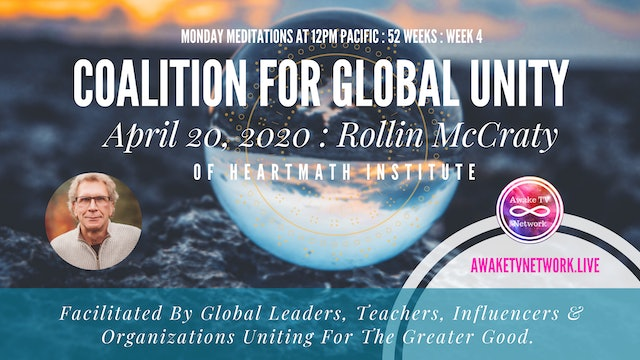 Coalition for Global Unity- Meditation with Rollin McCraty
