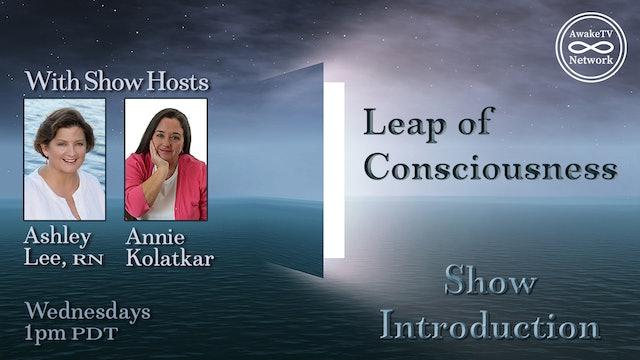 """Ashley Lee & Annie Kolatkar Teacher Introduction to """"Leap of Consciousness"""" Show"""
