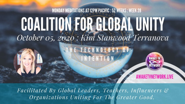 Coalition for Global Unity- Meditation with Kim Stanwood Terranova- Oct. 5, 2020
