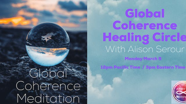 Global Coherence Healing Circle with ...