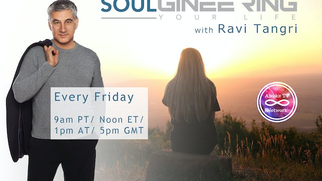 """SOULgineering Your Life"" with Ravi T..."