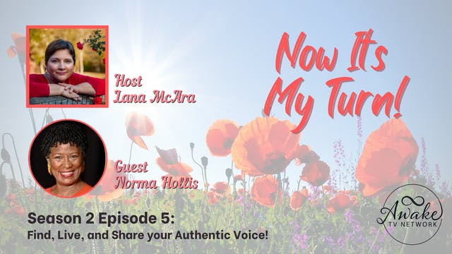 """""""Now It's My Turn - Authentic Voice""""..."""