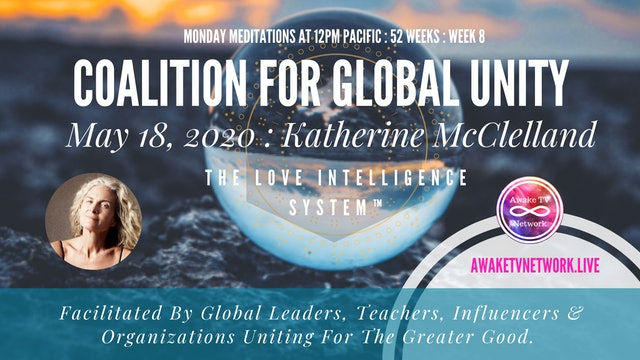 Coalition for Global Unity- Meditation with Katherine McClelland