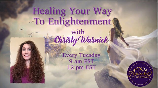 """""""Healing Your Way to Enlightenment"""" w..."""