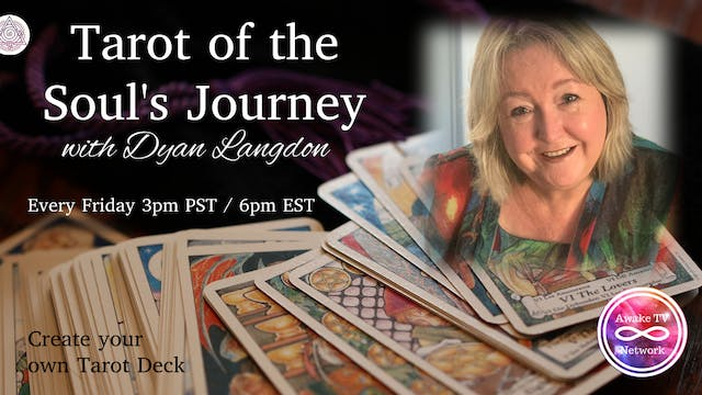 "Dyan Langdon ""Tarot of the Soul's Jou..."