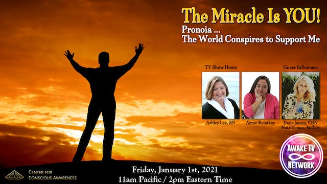 """""""The Miracle Is YOU!"""" with Ashley Lee..."""